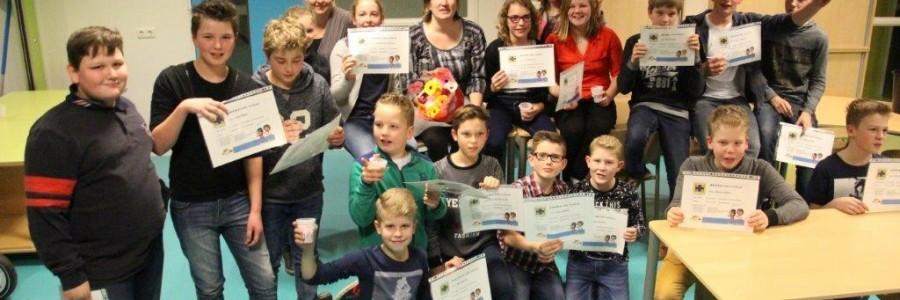 groep 8 van de Goudenstein gefeliciteerd.